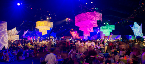 Just Four More Party for the Senses Events at Epcot International Food & Wine Festival