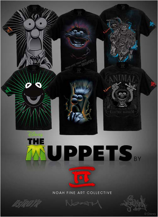Muppets Mayhem T-Shirts at D Street in the Downtown Disney District