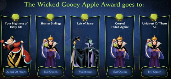 Wicked Gooey Apple Award Recipients