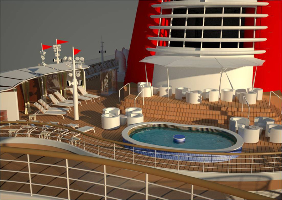 New Water Features to Help Guests Cool Off Aboard the Disney Fantasy ...