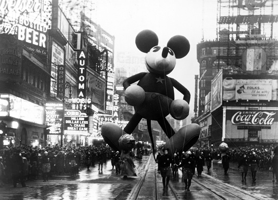 Mickey Mouse - 1934 Parade Balloon