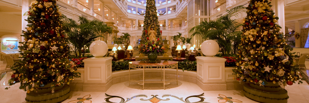 Happy Holidays from Disney's Grand Floridian Resort & Spa at the Walt Disney World Resort