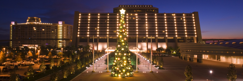 Happy Holidays from Disney's Contemporary Resort at Walt Disney World Resort