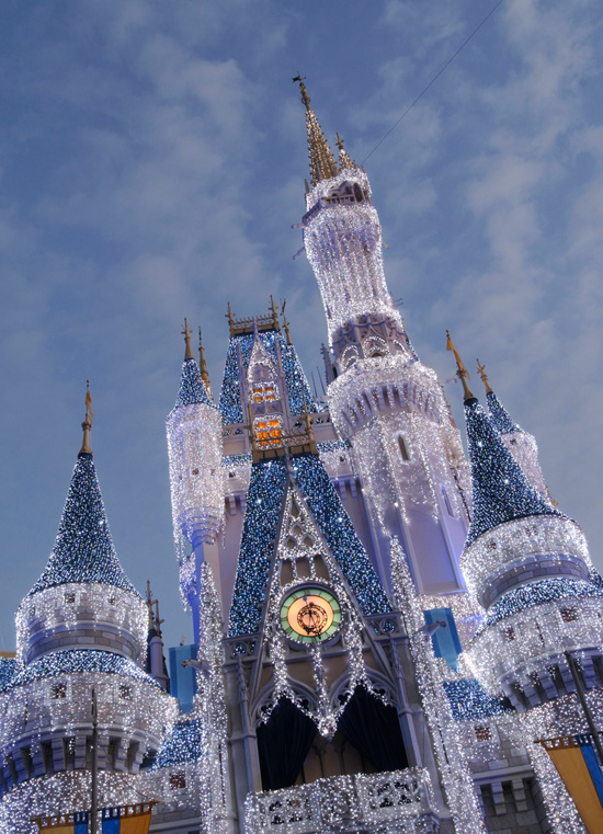 Cinderella's Holiday Wish and Castle Dream Lights at Magic Kingdom Park