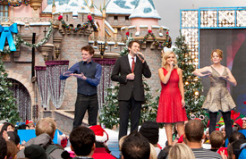 Nathan Pacheco, Katherine Jenkins, Katie Leclerc and Sean Berdy Perform 'O Holy Night' at Disneyland Park