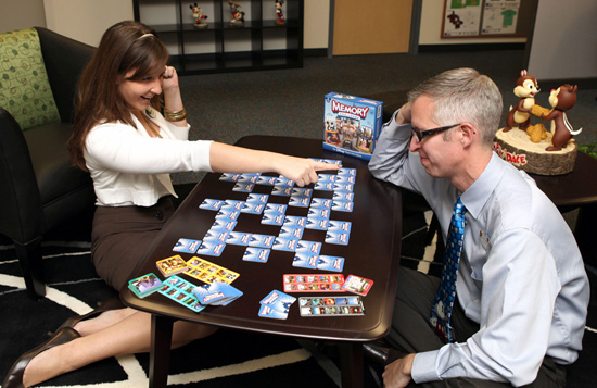 Disney Parks Blog Authors Erin Catalano and Steven Miller Play Disney Them Park Edition Memory Challenge