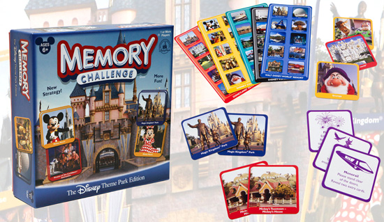 Disney Theme Park Edition Memory Challenge