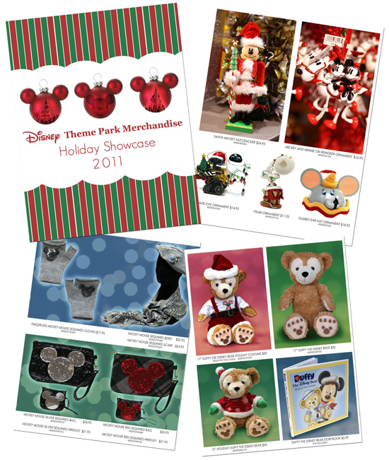 Download the Disney Theme Park Merchandise Holiday Guide