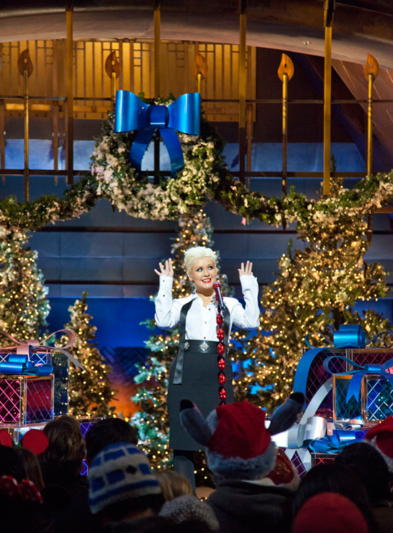 Christina Aguilera Performs at Disney's Grand Californian Resort & Spa