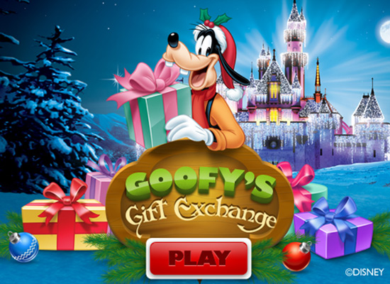 Goofy's Gift Exchange on Facebook