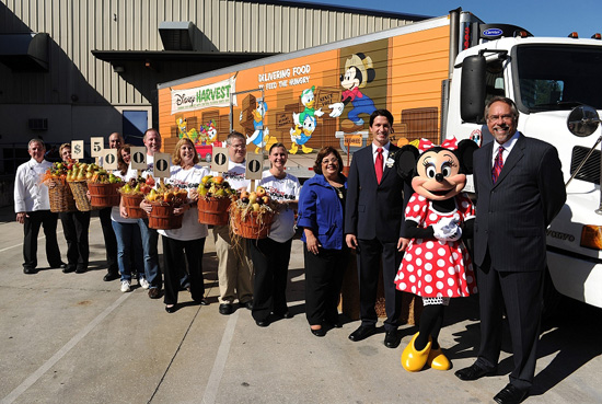 Disney Feeds Campaign to End Hunger in Central Florida