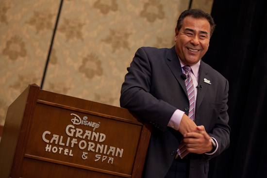 Disneyland Resort Diversity Resource Group Welcomes ABC News Correspondent John Quiones