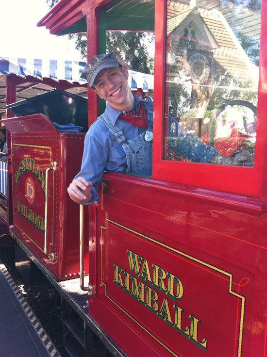 Disneyland Resort Cast Member Nate Lord