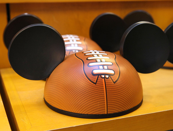 Football-Inspired Disney Ear Hat