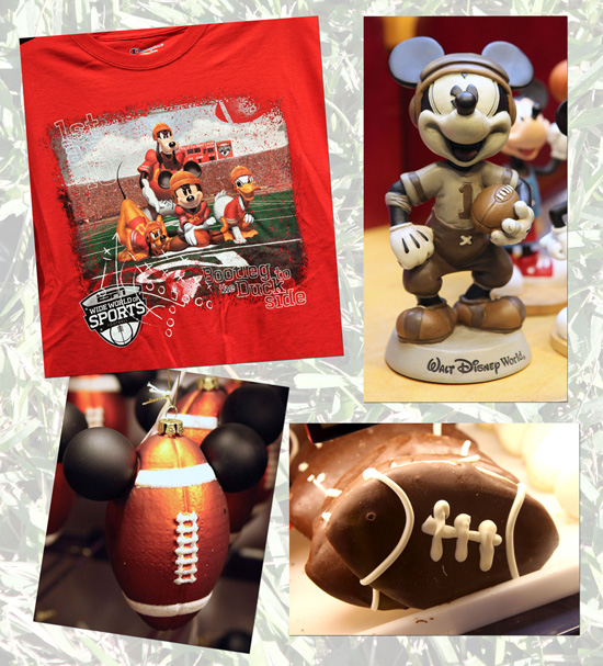 Football-Themed Items Available at Disney Parks