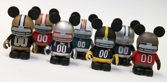 NFL-Themed Disney Vinylmation Figures