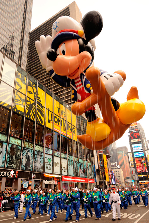 Sailor Mickey Takes to the New York City Sky Thursday at the 86th Annual Macy's Thanksgiving Day Parade