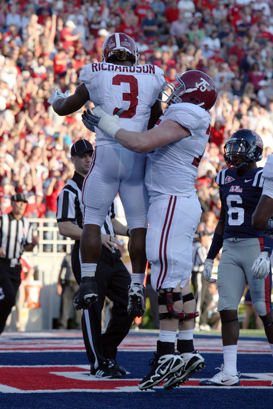 Alabama Football Recognized for Inspiring Rebuilding Effort