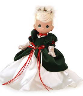 Cinderella Precious Moments Holiday Doll from Disney Theme Park Merchandise