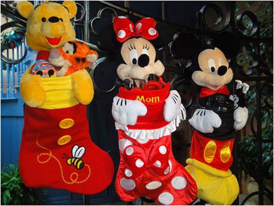 Disney Character-Themed Stockings