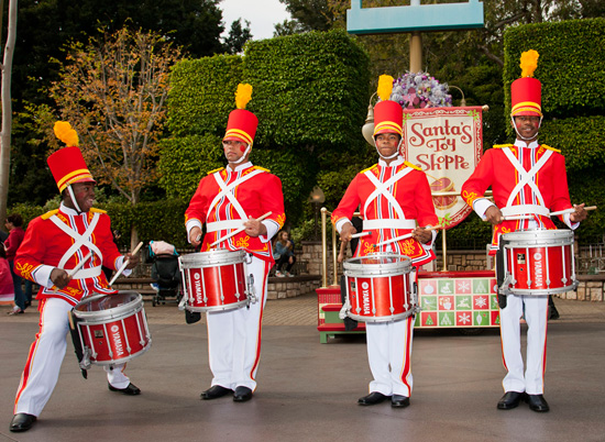 Have You Seen Toy Soldiers Drumming Up Cheer at Disneyland Park?
