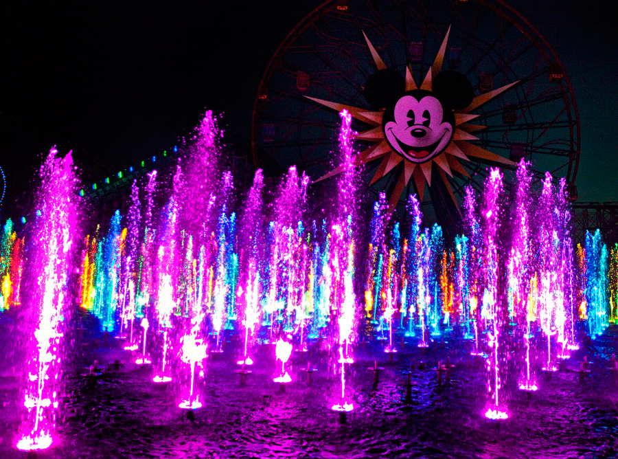 Disneyland Resort Viewing Tips World Of Color Disney
