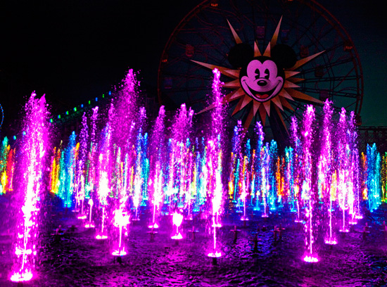 World of Color at Disney California Adventure Park