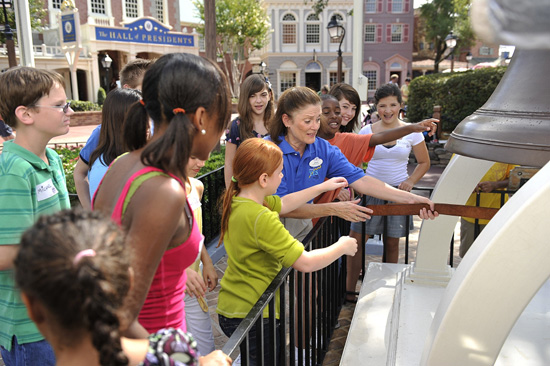 'American Story' Youth Education Series Program at Magic Kingdom Park