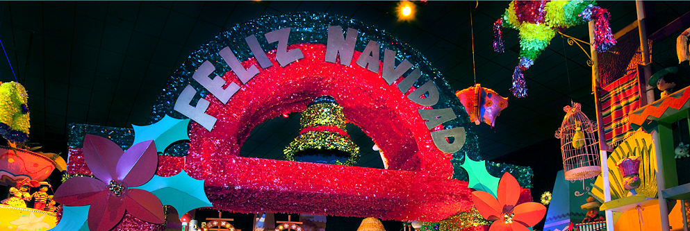 """it's a small world"" Holiday at Disneyland Park"