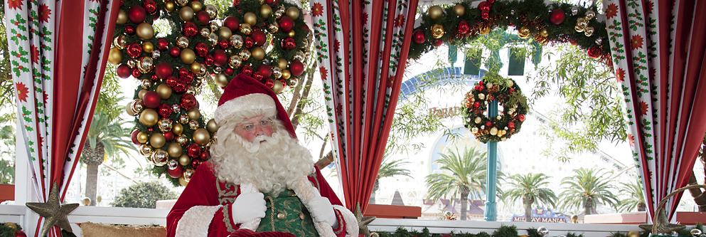 Santa Claus at the Disneyland Resort