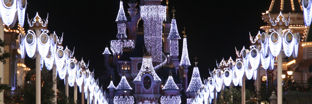 Celebrating the Holidays at Le Chateau de la Belle au Bois Dormant at Disneyland Paris