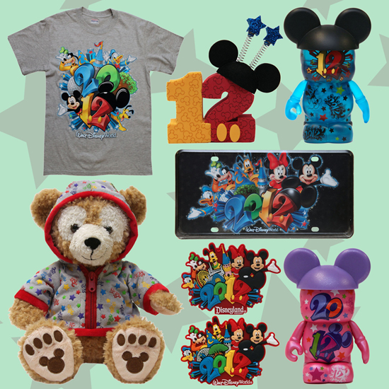 2012 Merchandise Includes Everything From License Plates, T-Shirts, and Vinylmation at Disney Parks