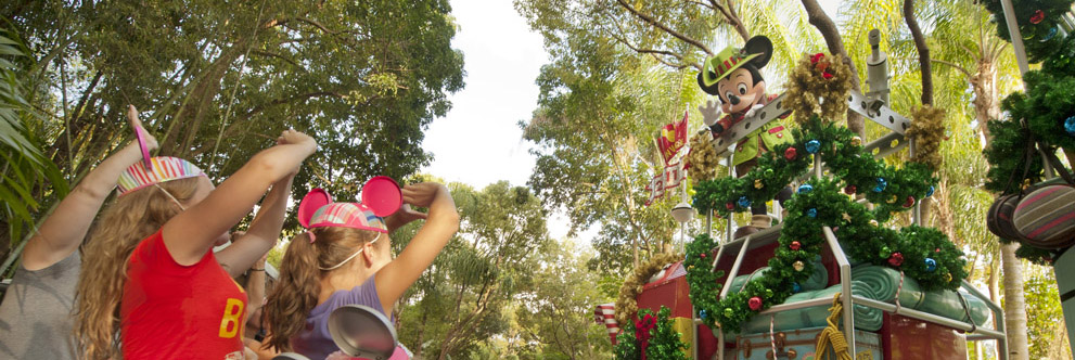 Happy Holidays from Disney's Animal Kingdom Theme Park at the Walt Disney World Resort