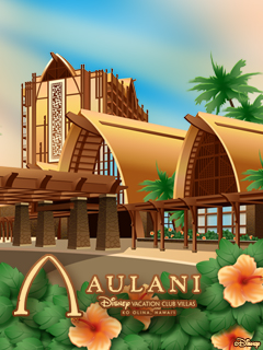 iPhone/Android Wallpaper Featuring Aulani, Disney Vacation Club Villas, Ko Olina, Hawaii