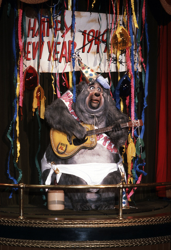 Caption This: Big Al Rings in the New Year at Magic Kingdom Park
