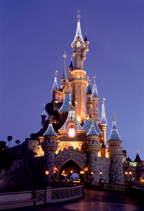 Chateau Noel at Disneyland Paris