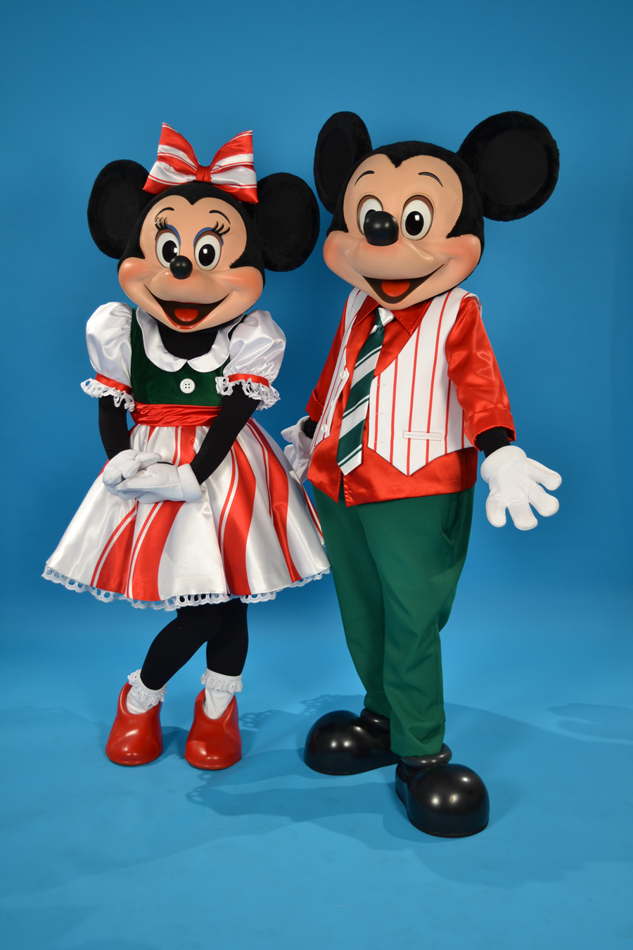 Disney Characters Get Dressed Up For Holiday Fun At Disney