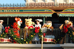 Tigger, Winnie the Pooh, Donald Duck and Pluto Gather During the Magic Kingdom Welcome Show at Walt Disney World Resort