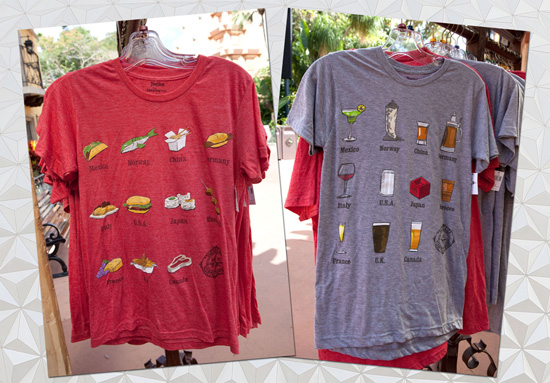Shirts Showcase the World at Epcot