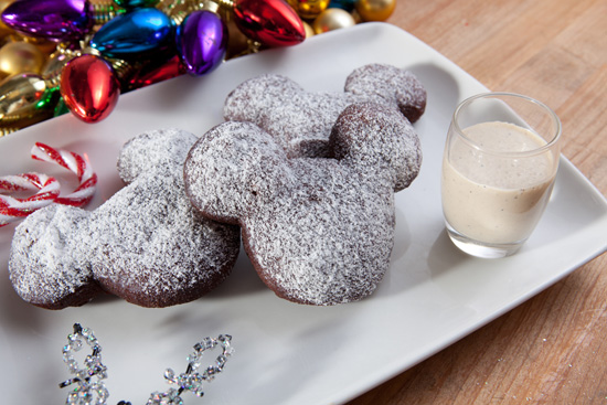 Gingerbread Beignets from Caf Orleans at Disneyland Park