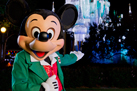 Mickey Mouse Enjoying the Holidays at Walt Disney World Resort