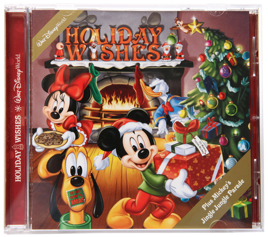 Walt Disney World Holiday Wishes CD, the Soundtrack from the Holiday Wishes Fireworks Spectacular at Magic Kingdom Park and Mickeys Jingle Jungle Parade at Disneys Animal Kingdom Park