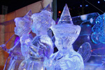 'Sleeping Beauty' Ice Sculptures, Featured in the Interpretation of Disneyland Paris Enchanted Christmas for the 10th International Snow & Ice Sculpture Festival in Bruges, Belgium