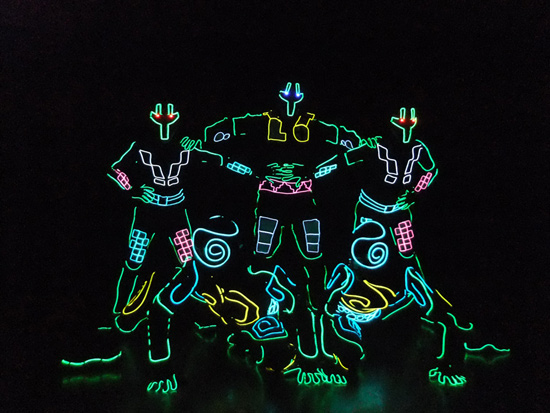 See the Exclusive, Jaw-dropping Dance Performance with Incredible Lighting Effects by iLuminate at ElecTRONica in Disney California Adventure Park