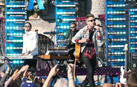The band OneRepublic performs their song, 'Good Life.'