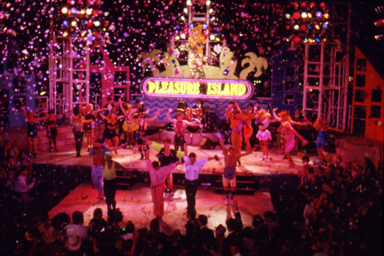 Ringing in the New Year at Pleasure Island at Downtown Disney