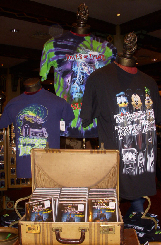 The Twilight Zone Tower of Terror Tees Available at Disneyland Resort