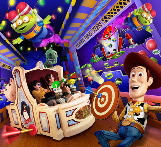 Toy Story Mania! to Open at Tokyo Disney Resort on July 9, 2012