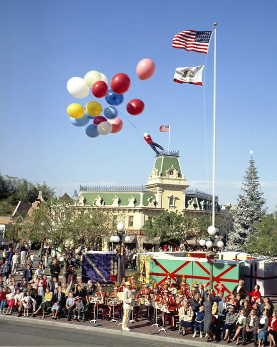 Caption This: Up and Away at Disneyland Park
