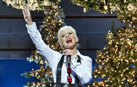 Christina Aguilera performs 'Have Yourself a Merry Little Christmas' at Disney's Grand Californian Hotel & Spa.